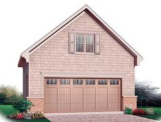 2 Car Garage With Storage + Free Bonus
