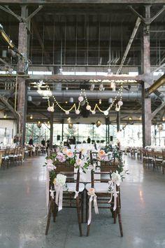 Philadelphia Industrial Wedding   photography by Love Me Do   as seen on @Ruffled #industrialwedidng #rusticwedding
