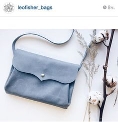 Leather bag by Leofisherbags. Russia. Saint-Petersburg
