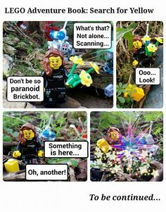 LEGO Adventure Book: Search for Yellow: part two  #LEGOAdventureBook #Megsonthemove #LAB #LEGOFUN #LABAdventurers #MagicalForest #minifigs #LABSearchForYellow