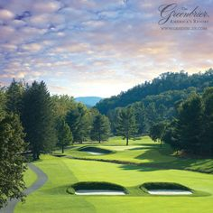 Enjoy golf and over 55 other activities at #TheGreenbrier