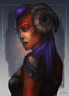 female troll, shadowrun