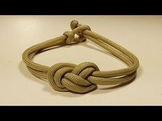 """""""How You Can Make An Elegant Infinity Knot Parachute Cord Bracelet"""" WhyKnot - YouTube"""