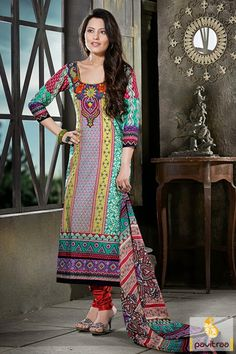 Splendiferous multicolor cotton chiffon casual salwar suit online shopping at lowest price in India. Purchase online this printed salwar suit with discount. #salwarkameez, #cottonsalwarkameez, #casualsalwarlameez, #printedsalwarkameez,#churidarsalwarkameez, #discountoffer, #pavitraafashion, #utsavfashion, #embroiderysalwarsuit, #georgettesalwarsuit, #silksalwarkameez, #straightsalwarsuit http://www.pavitraa.in/store/casual-dress/ callus:+91-7698234040