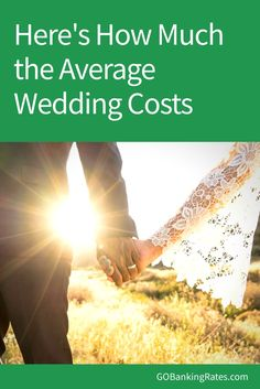 Get a beautiful wedding for less than the average wedding cost with these tips.