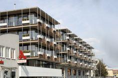 Fassade #architecture Architekt: ludin*plank*penz, Foto: Gerda Eichholzer