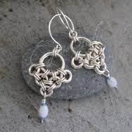 chainmaille earrings - Szukaj w Google
