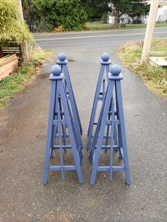 Stained Obelisks for shipping to Washington DC