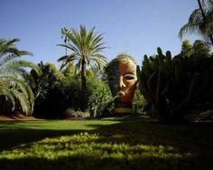 Der Universalkünstler hat sich mit dem paradiesischen Garten Anima bei Marrakesch ein Denkmal gesetzt, und zwar ein nachhaltiges.