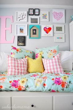 29 Stylish Ideas for a Teenage Girls Dream Bedroom Big Girl Rooms Bedroom Dream Girls Ideas Stylish Teenage Preteen Girls Rooms, Teenage Girl Bedrooms, Little Girl Rooms, Boy Bedrooms, Teen Room Decor, Kids Decor, Bedroom Decor, Bedroom Ideas, Small Room Bedroom