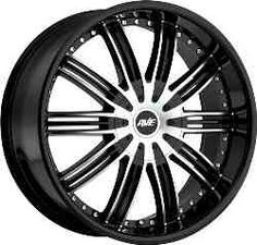 Avenue 603 Black Machined  wheels purchased through our websites carry the manufacturer's warranties.  http://www.thewheelconnection.com/