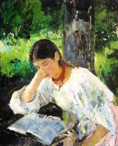 Valentin Serov |     Portrait of Adelaïde Simonovich, 1889