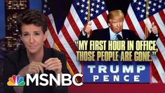 Donald Trump Nativist Speech Follows Dark US Pattern | Rachel Maddow | M...