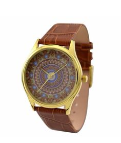 Emerline Ornament Leather Watch