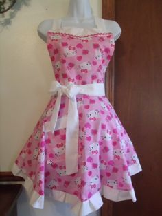 Hello Kitty Adult Apron