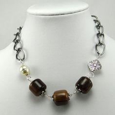 cavossa designs - Loco Cocoa Necklace, $30.00 (http://www.cavossadesigns.com/loco-cocoa-necklace/)