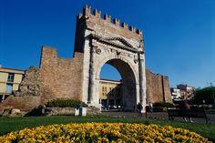 Arco d'Augusto. Augustus Arch