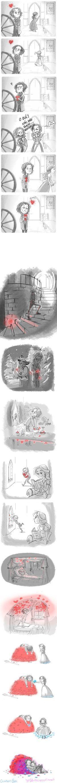 Quando você tenta esconder o amor