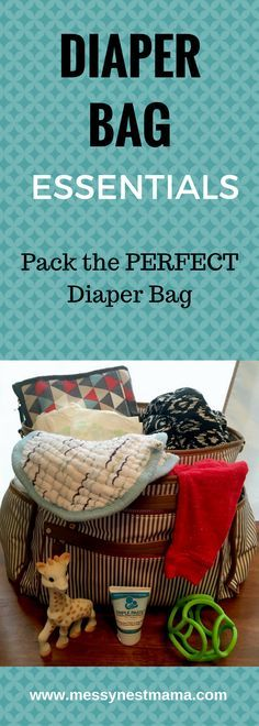 Diaper Bag Essentials- Pack the PERFECT Diaper Bag. Always include Triple Paste Medicated Ointment for Diaper Rash in your bag!