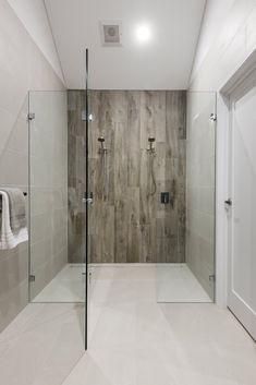 #mastershower #doubleshower #showerfortwo #doubleheadshower #woodgraintiles #woodlooktiles