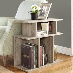 Dark Taupe Reclaimed-look 24-inch Accent Side Table - Overstock™ Shopping - Great Deals on Coffee, Sofa & End Tables