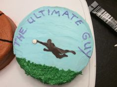 Ultimate frisbee cake