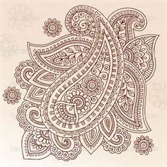 Paisley Flower - Bing Images