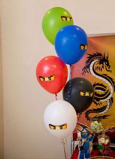Aya A's Birthday / Ninjago - Youssef's Lego Birthday at Catch My Party Lego Ninjago Cake, Ninjago Party, Lego Cake, Ninja Birthday Parties, Birthday Party Decorations, Lego Parties, 5th Birthday, Birthday Ideas, Festa Ninja Go