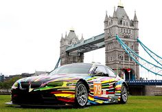 The Warhol, Lichtenstein, Koons and Hockney BMW art cars at free Art Drive exhibition in London.  ART DRIVE! The BMW Art Car Collection 1975-2010 exhibition opens in the NCP car park on Great Eastern Street in Shoreditch, London on 21 July and runs for two weeks. In partnership with the ICA, the London 2012 Festival, the free admission exhibition brings together for the first time in the UK the collection of BMW cars transformed by 16 of the world's leading international artists.