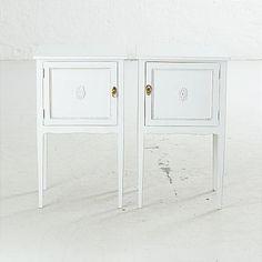 Nattduksbord / Night tables