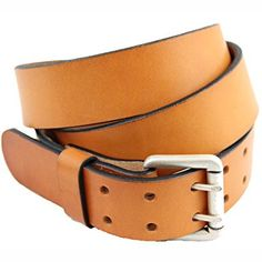 4afe14f3f London Tan Bridle Leather Belt With Double Hole dress
