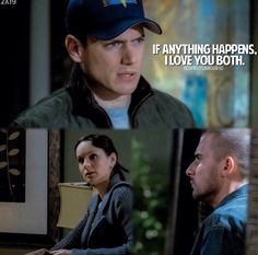 Michael Scofield, the bravest man on Earth    Credits: not my picture