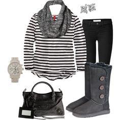 Dark colors for winter...