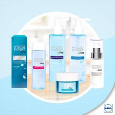 Hydro Effect & Hydro Expert Cien ~ What to buy? - The Expat Beautician Lidl, Acetone, Hyaluronic Acid, Lotion, Personal Care, Skin Care, Bottle, Stuff To Buy, Beauty