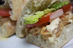 Creole Recipes, Cajun Recipes, Shrimp Recipes, Cajun Food, Shrimp Po Boy, Cold Sandwiches, Best Sandwich, Sandwich Recipes, Bon Appetit