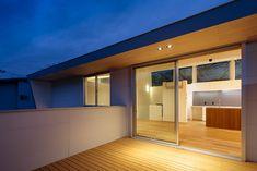 設計事務所アーキプレイス 桜並木と暮らす家 デッキテラス