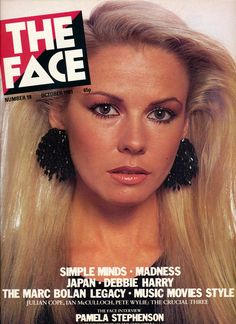 The Face Magazine UK October 1981 Pamela Stephenson Pamela Stephenson, Julian Cope, The Face Magazine, Number 18, Marc Bolan, Simple Minds, Debbie Harry, Popular Culture, Comedians