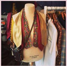 Vintage cravats! Bobby & Dandy, Hove.