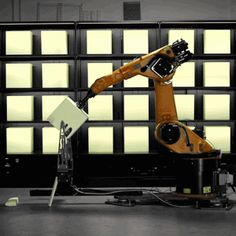 """Robochop by Kram/Weisshaar gives """"anyone with a smartphone"""" access to an industrial robot"""