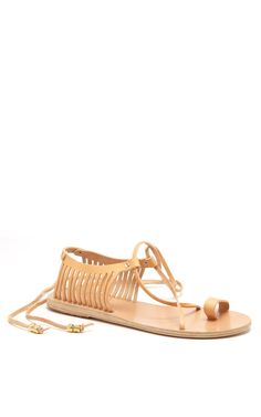 3a34c203aeb2 Ino Caged Leather Sandals. Holiday WardrobeAncient Greek ...