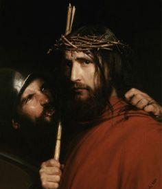 Carl Heinrich Bloch - Christ with mocking soldier