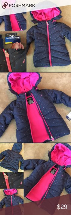 NEW!  NAUTICA Winter Puffer Coat Jacket 18 Month Brand new with tags!  So cute!  Size 18 month old. Nautica Jackets & Coats Puffers