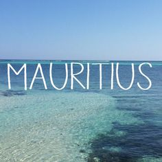 Thanks for this awesome view! Island Life, Mauritius, Thankful, Awesome, Beach, Water, Travel, Outdoor, Inspiration