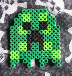 Minecraft Creeper 8 Bit Ghost PacMan Pac Man by GiacomoDesigns, $8.00