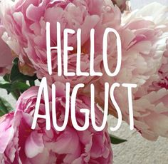 Hello August, August Month, Inspirational Quotes, Simple, Instagram, Living Room, Tumblr Sayings, Month Of August, Life Coach Quotes