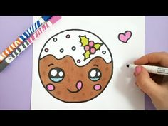 KAWAII WEIHNACHTSBAUMSCHMUCK MALEN - YouTube