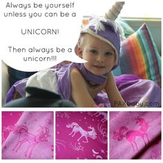 PAXbaby exclusive Natibaby My Little Unicorn in Blossom