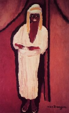 "Kees van Dongen    Dutch      1877 - 1968    ""The Young Arab"""