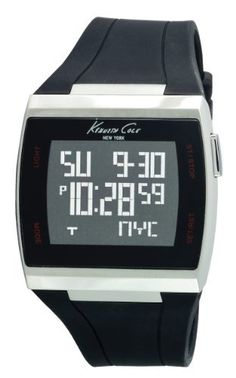 Kenneth Cole New York Men's KC1668 KC-Touch Strap Watch Kenneth Cole. $88.80. 3-hand Japanese Analog-Movement with date window. Water-Resistant to 165 feet (50M). Solid stainless steel barrel case. Silicone colored strap. Dependable Japanese Analog-Quartz movement. Save 29% Off!