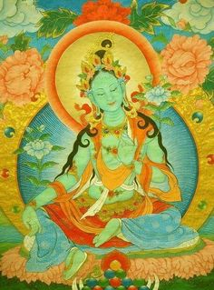 Tara - Tibetan goddess of wisdom and compassion.